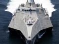 美军濒海战斗舰开始部署新加坡
