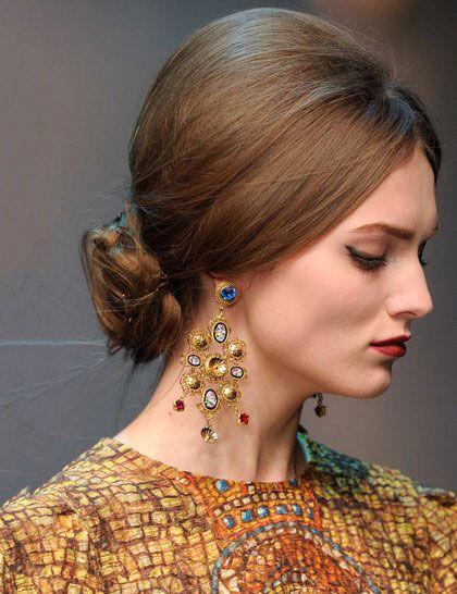 8款米兰时装周最惹火发型/组图