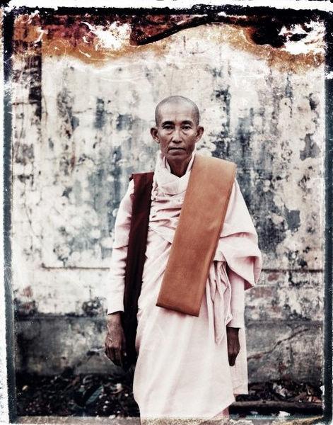 形形色色的缅甸人的肖像