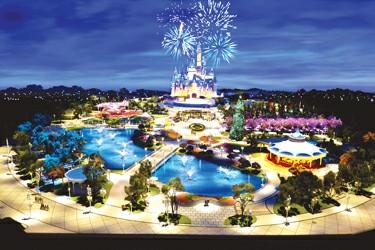 上海迪士尼首秀整体概念图