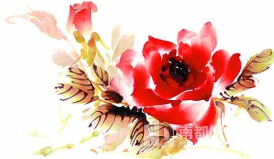 送一枝花给女士,寄寓她如花般美丽.