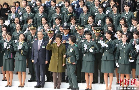 朴槿惠将于11日向12名部长提名人授予委任状