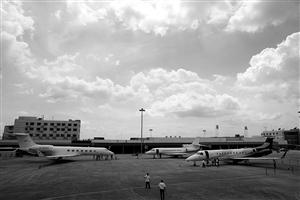 宁波栎社国际机场停机坪