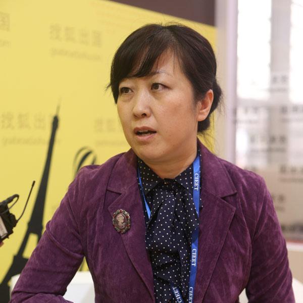 嘉华世达总经理杨凌 高清图片