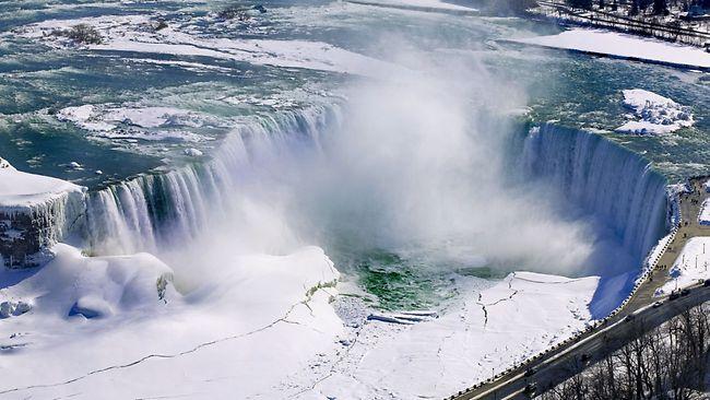 尼亚加拉大瀑布图片_