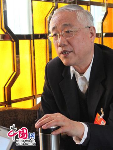 全国政协委员李宏塔接受中国网专访。中国网 汪玮 摄