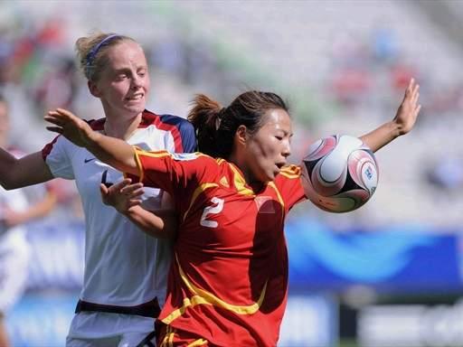 中国女足VS美国女足