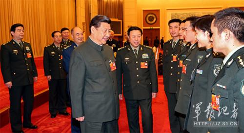 习近平接见刘洋等8名基层人大代表