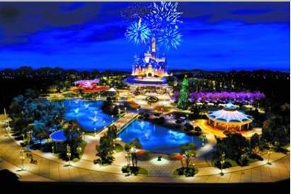 上海迪士尼首张模型图片公布