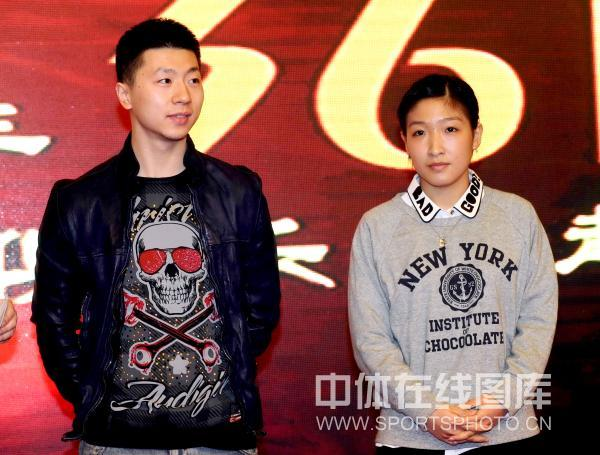 马龙和刘诗雯