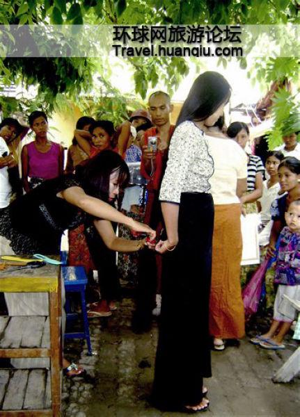 缅甸女性最怕头发被偷