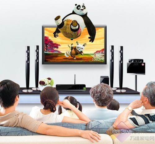 """传统电视连接上智能电视盒,就可以变身成为""""智能电视"""""""