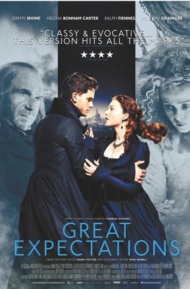 远大前程》 这部根据狄更斯经典小说改编的影片汇集了杰瑞米・艾文、拉尔夫・费因斯、海伦娜・伯翰・卡特等主演阵容