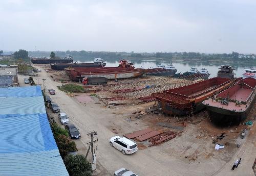 财经专线 2 广西桂平打造西南内河造船基地