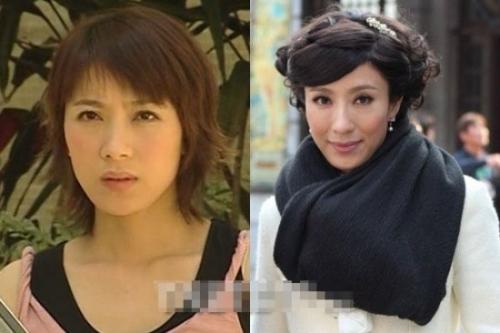 早前一个还算五官姣好的妹子,在最近的新剧《名媛望族》就被自己这么折腾成尖酸刻薄的女人了。