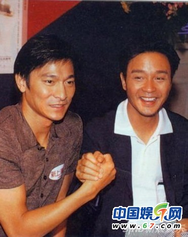 张国荣和刘德华_90年代港星珍藏版合影旧照曝光(组图)-搜狐滚动
