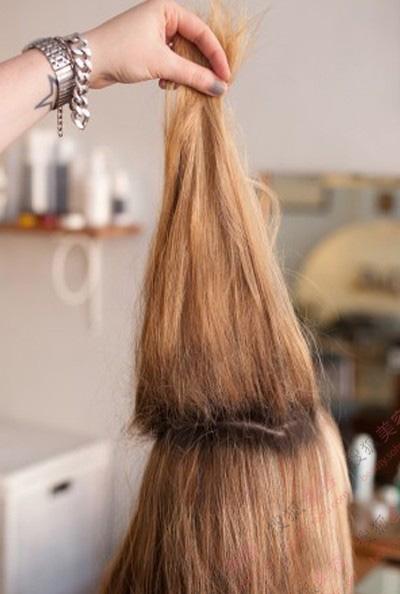 各种头发的编法 步骤