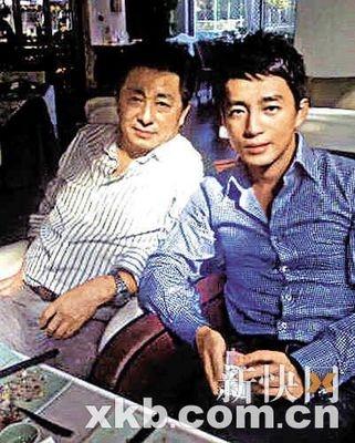 汪小菲与生父汪则翰