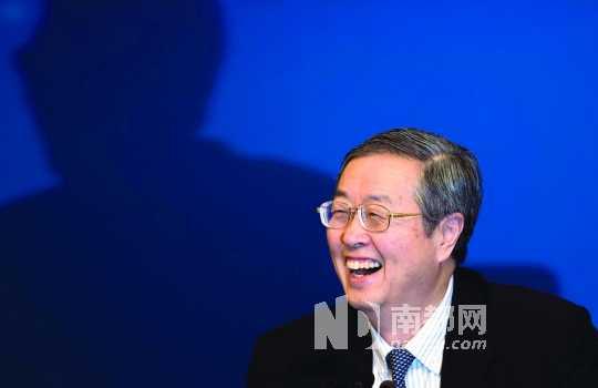 中国人民银行行长周小川昨天就货币政策与金融改革答记者问。 南都记者 霍健斌 摄