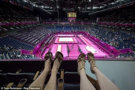 2012年伦敦奥运会,汤姆和维莉蒂的脚丫也去凑了个热闹