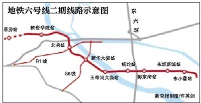 谁知道北京地铁六号线通州段北关地铁站具体位置 什么时候开通 附近图片