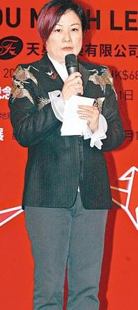 陈淑芬早前现身为哥哥举行的纪念会记招。