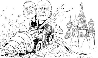 """《虎胆龙威5》:莫斯科""""强拆队"""""""