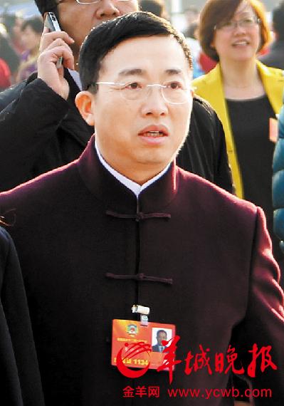 全国政协委员朱征夫 羊城晚报特派记者 林桂炎 摄