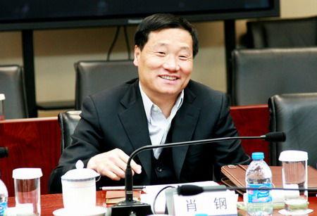 证监会主席肖刚简介_证监会今日换帅 肖钢出任中国证监会主席(图)-搜狐滚动