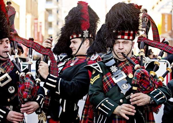 中国苏格兰风笛乐队_著名的苏格兰高地警卫团风笛乐队水平了得