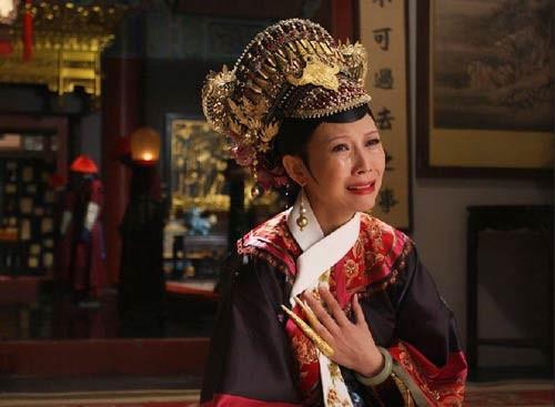 清宫皇后真人手绘图