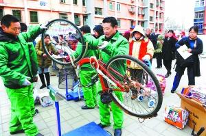 从废自行车换食用油 让废旧物品走公益之路(图)图片
