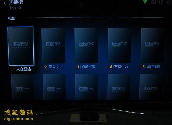 小米盒子视频采用的是iCNTV