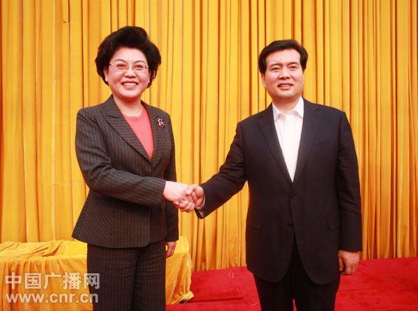 李建华任宁夏党委书记 刘慧任党委副书记