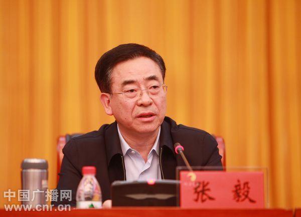 张毅同志不再担任宁夏回族自治区党委书记、常委、委员职务
