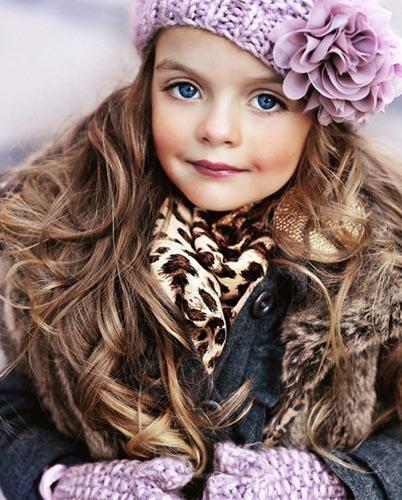 真人 模特 走红/要说近年来最火的童装小模特儿,非俄罗斯的这位5岁小萝莉米兰·...