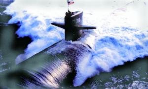 核潜艇现身美韩军演