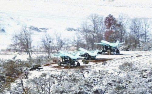 朝鲜首次公布无人机实战部署的照片图片来源:韩联社