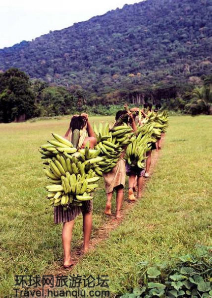 最后的亚马逊原始部落