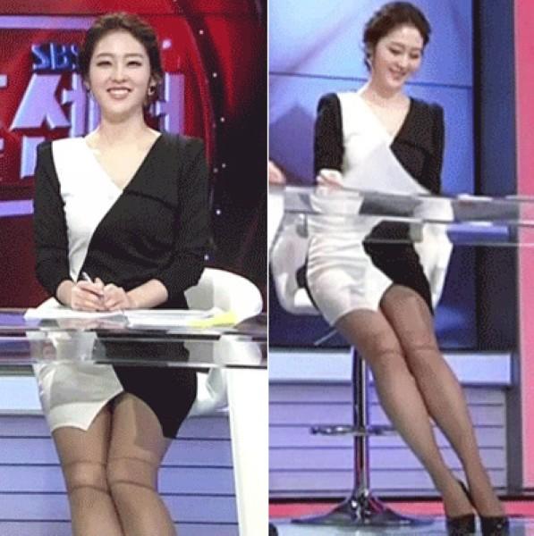 幻灯:韩国足球主播女神来袭 火辣超短裙迷倒人