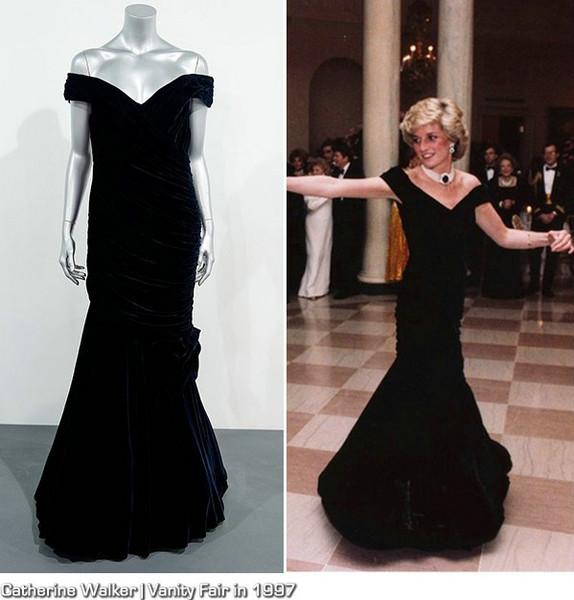戴安娜王妃10条裙子 高价在伦敦拍卖