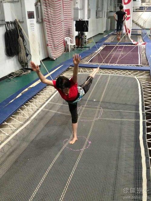 麦迪娜表示自幼学习舞蹈