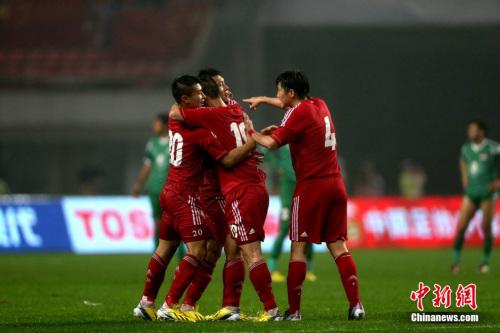 于大宝绝杀建功 亚洲杯预选赛中国1:0击败伊拉克