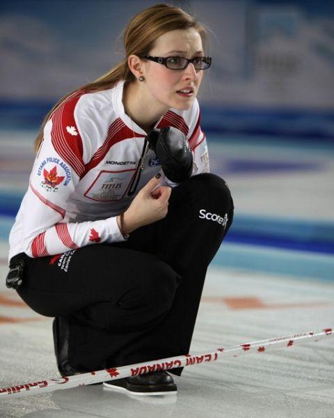 加拿大眼镜美女