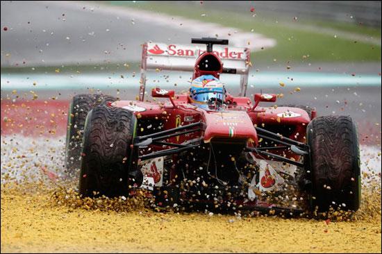 阿隆索退出F1马来西亚站
