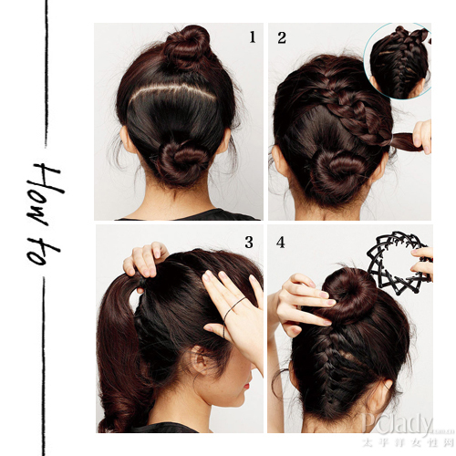 黑色发卡发圈,盘发必备工具,多齿可伸缩设计,像神奇的图片