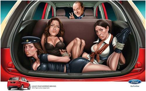 艳女郎被绑后备箱美女手脚被绑强贱捆绑在车后备箱里