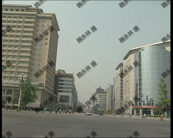 2003年春天的北京街头