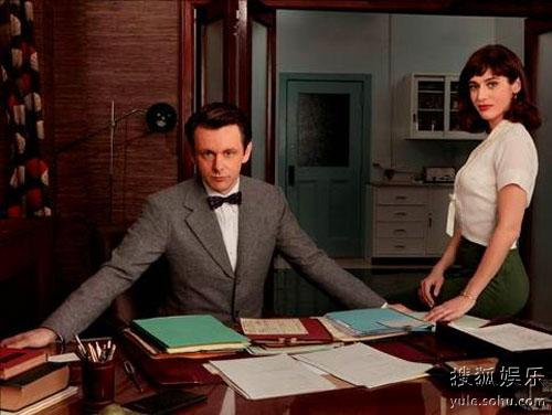 迈克尔-辛(左)主演的《性爱大师》即将在Showtime开播