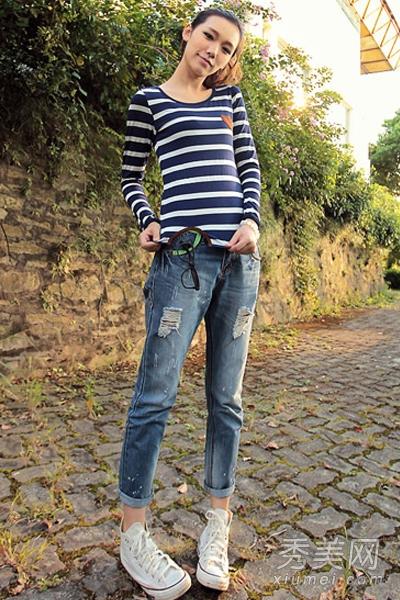 紧身裤的超显瘦混搭术 打造曼妙好身材(图)